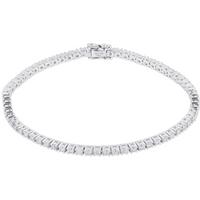 shop for Mappin & Webb 18ct White Gold 2.00cttw Diamond Tennis Bracelet at Shopo
