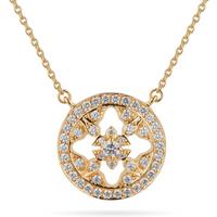 shop for Mappin & Webb Empress 18ct Yellow Gold 0.40cttw Diamond Pendant at Shopo