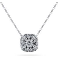 shop for Mappin & Webb Masquerade 18ct White Gold 0.60cttw Diamond Pendant at Shopo