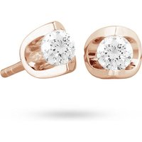 18ct Rose Gold 0.30ct Tension Set Diamond Earrings