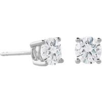 18ct White Gold 1.00ct Diamond Stud Earring