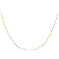 9ct Yellow Gold 40cm (16