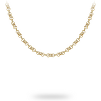 9ct Yellow Gold 50cm (20