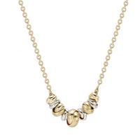shop for 9ct Bicolour Gold Love Knot Necklace at Shopo