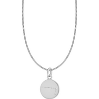 shop for Silver Aries Star Constellation Pendant at Shopo