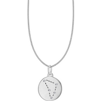 shop for Silver Capricorn Star Constellation Pendant at Shopo