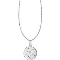 shop for Silver Aquarius Star Constellation Pendant at Shopo