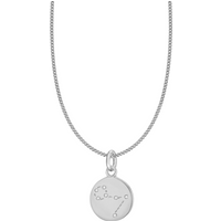 shop for Silver Pisces Star Constellation Pendant at Shopo