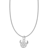 shop for Silver Taurus Star Sign Pendant at Shopo