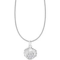 shop for Silver Leo Star Sign Pendant at Shopo