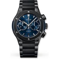 Hublot Classic Fusion Chronograph Ceramic Blue Bracelet 520.CM.7170.CM 45mm