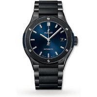 Hublot Classic Fusion Ceramic Blue Bracelet 510.CM.7170.CM 45mm