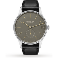 shop for NOMOS Glashütte, Orion neomatik 41 date olive gold, reference 364 at Shopo