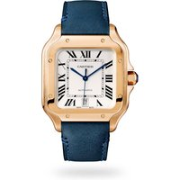 Santos de Cartier watch, Large model, automatic, rose gol ...