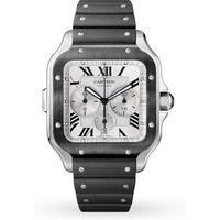 Santos de Cartier watch, Large Model, Automatic, Stainless Steel