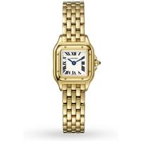 Panthère de Cartier watch, Mini, yellow gold