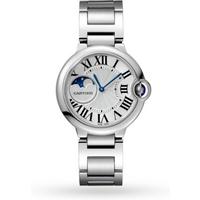 Ballon Bleu de Cartier watch, 37 mm, steel