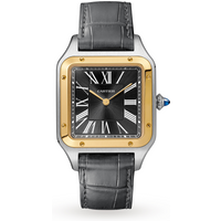 Santos-Dumont watch LIMITED EDITION, Large model, yellow ...