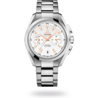 shop for Omega Seamaster Aqua Terra 150m Co-Axial GMT Chronograph 43mm Mens Watch at Shopo