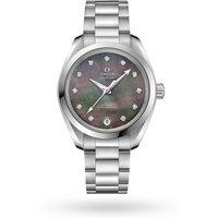 shop for Omega Seamaster Aqua Terra 150m Co-Axial Master Chronometer 34mm Ladies Watch at Shopo