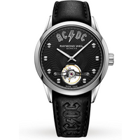shop for Raymond Weil Freelancer ACDC Limited Edition 42mm Mens Watch 2780-STC-ACDC1 at Shopo