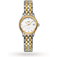 shop for Longines Flagship 26mm Ladies Watch L42743277 at Shopo