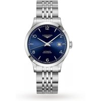 shop for Longines Record 38.5mm Mens Watch L28204966 at Shopo
