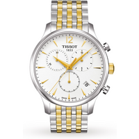 shop for Tissot T-Classic Tradition Two-Tone Chronograph T0636172203700 at Shopo