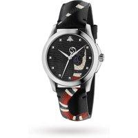 shop for Gucci Unisex Swiss Le Marché Des Merveilles Black Toscano ... at Shopo