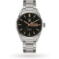 shop for TAG Heuer Carrera Calibre 5 41mm Mens Watch WAR201C.BA0723 at Shopo