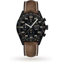 shop for TAG Heuer Carrera Heuer 01 43mm Mens Watch CV2A84.FC6394 at Shopo