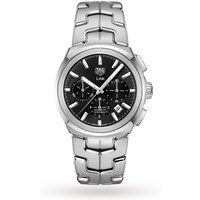 shop for TAG Heuer Link Calibre 17 41mm Mens Watch CBC2110.BA0603 at Shopo