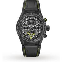 TAG Heuer Carrera Calibre Heuer 02T Nanograph Automatic Mens Watch