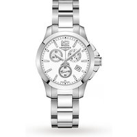 shop for Longines Conquest 36mm Ladies Watch L33794166 at Shopo