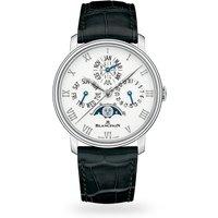 Blancpain Villeret Quantieme Perpetual 40mm 6656-1127-55b Mens Watch