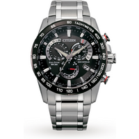 shop for Citizen Eco-Drive Gents Perpetual Chrono A.T Watch AT4008-51E at Shopo