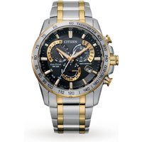 shop for Citizen AT4004-52E Eco-Drive Gents Perpetual Chrono A.T Watch at Shopo