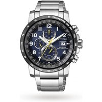 shop for Citizen AT8124-91L Mens Chronograph Tachymeter Date Eco-D ... at Shopo