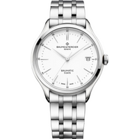 Baume and Mercier Clifton Baumatic 40mm Mens Watch M0A10400