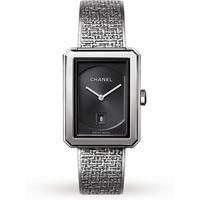 Chanel Boy-Friend Tweed Steel H4878 27x35mm