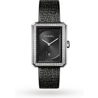 Chanel Boy-Friend Tweed Diamond H5318 27x35mm