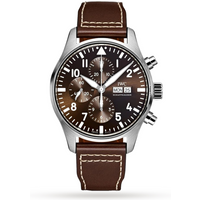 Image of IWC Pilots Chronograph Ed. Antoine de St Exupery Mens Watch