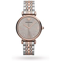 shop for Armani Gianni T-Bar Rose Gold Tone Two Tone Ladies Watch AR1840 at Shopo