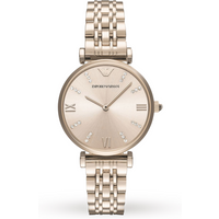 Emporio Armani AR11059 Ladies Blush Rose Gold Stainless Steel Watch