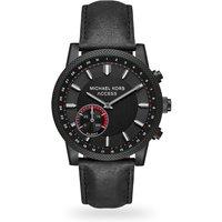 shop for Michael Kors Black IP Access Mens Smartwatch at Shopo