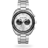 shop for Michael Kors Stainless Steel Chronograph Mens Watch at Shopo