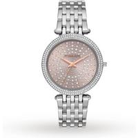 Michael Kors Darci Stainless Steel Pink Ladies Watch MK4407.