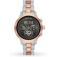 shop for Michael Kors Access Runway Pavé Two-Tone Smartwatch at Shopo