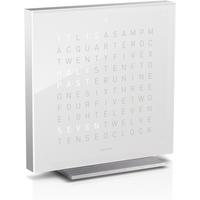 QLOCKTWO Touch Acrylic Table Clock - Vanilla Sugar