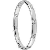 shop for Damiani 18ct White Gold 0.39cttw Diamond D-Icon Bracelet at Shopo